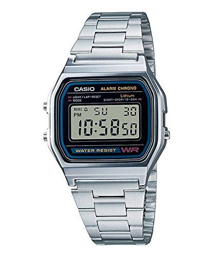 Metalico Reloj A158wa Casio 1df Digital 0N8wmvn