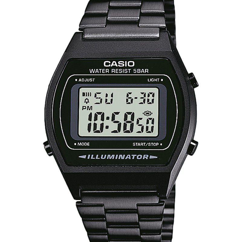 76389c3ff9fe Reloj Casio Digital negro metalico B640WB-1AEF - Joyería Amores. Tienda  online joyas personalizadas y artesanales