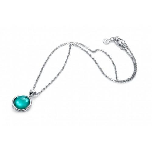 7dd55c8e48fc Collar Viceroy Plata Piedra Azul - Joyería Amores. Tienda online ...