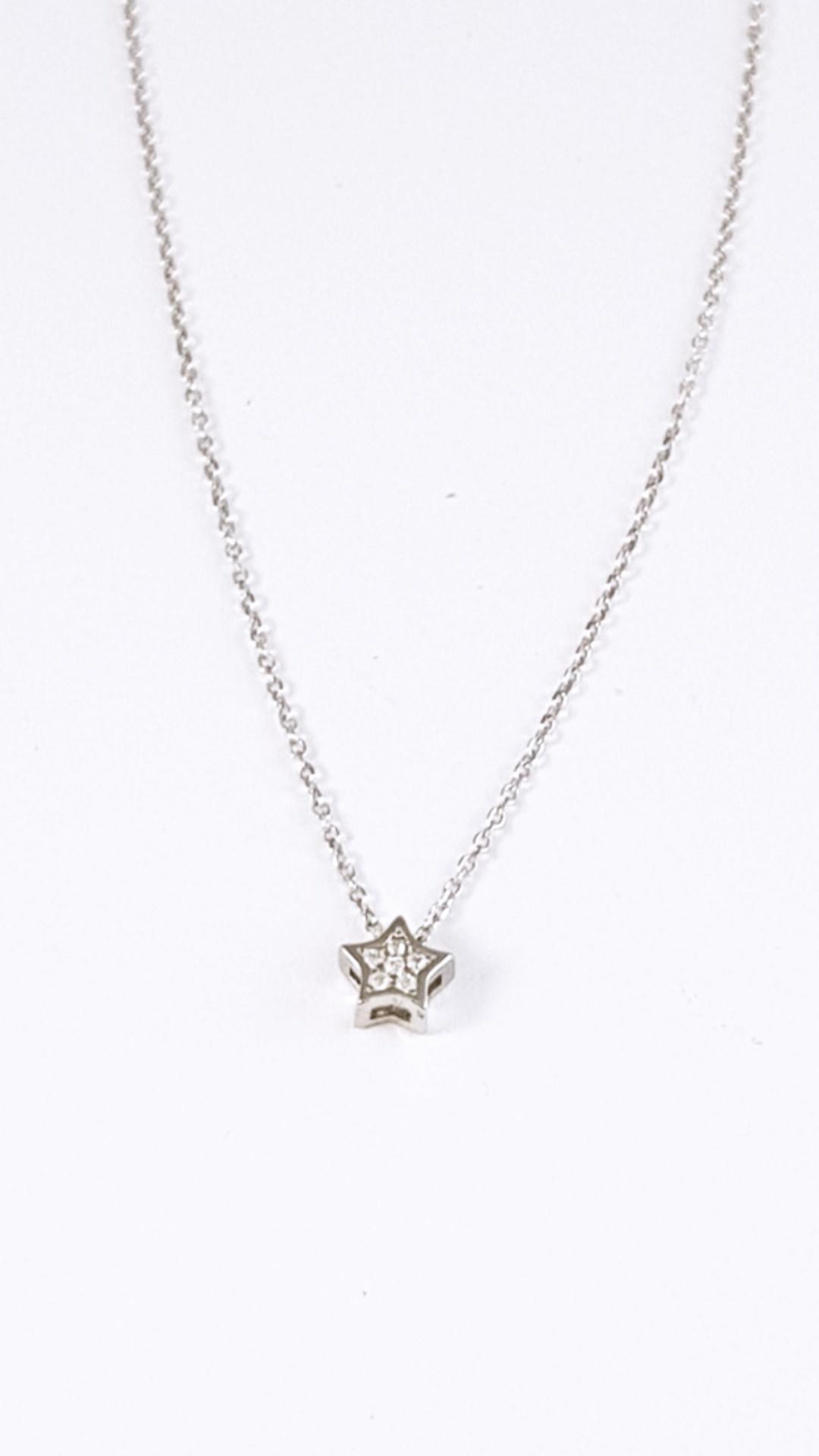 a6ae68fae15e Cadena plata con colgante estrella mini - Joyería Amores. Tienda online  joyas personalizadas y artesanales